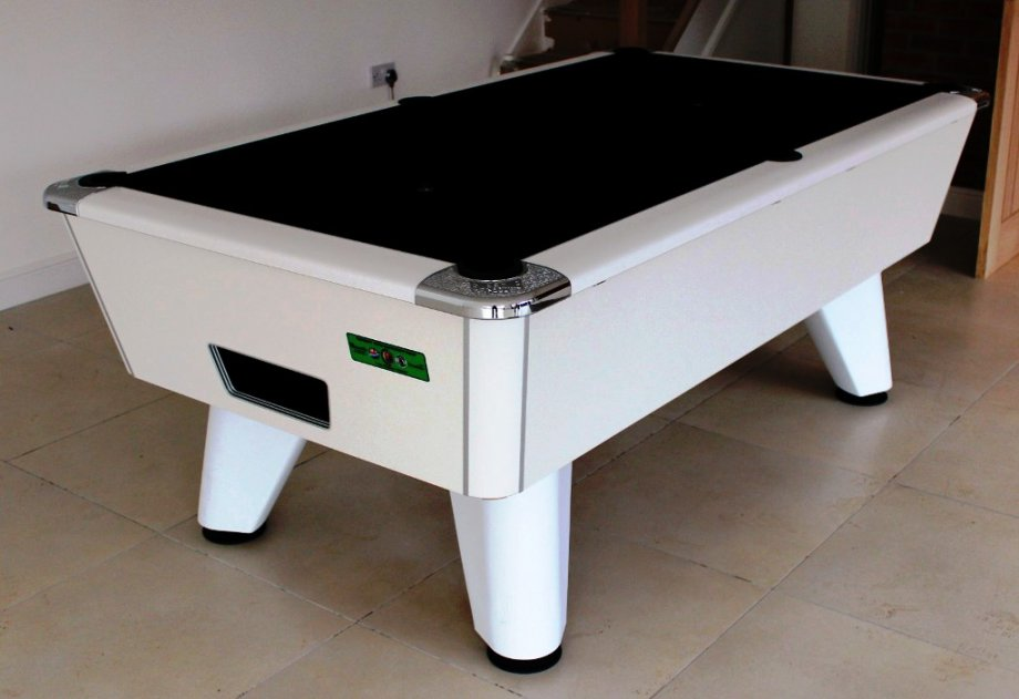 7ft White Supreme Winner Pool Table