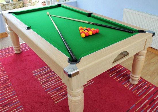 Oak Majestic 7ft Pool Dining Table