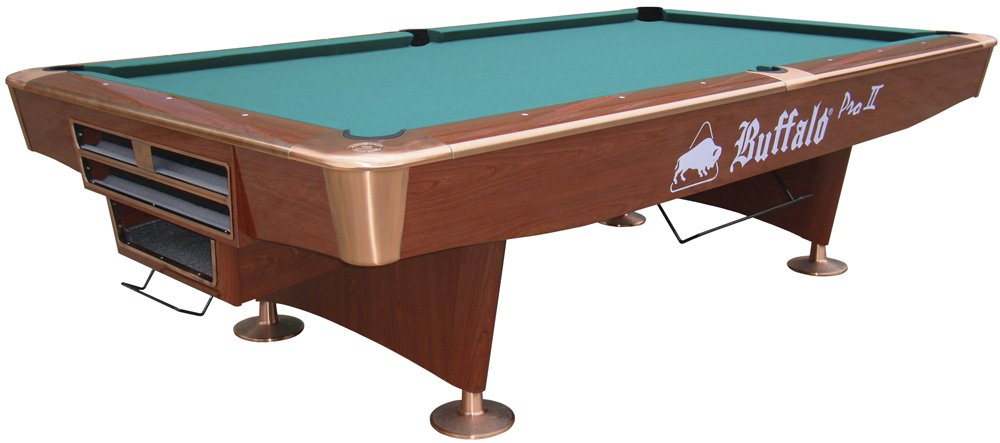 Buffalo pro ii 9 ball tournament american pool table - Professional pool table size ...