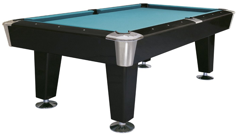 Buffalo outrage 7ft pool table american black pool for 1 inch slate pool table