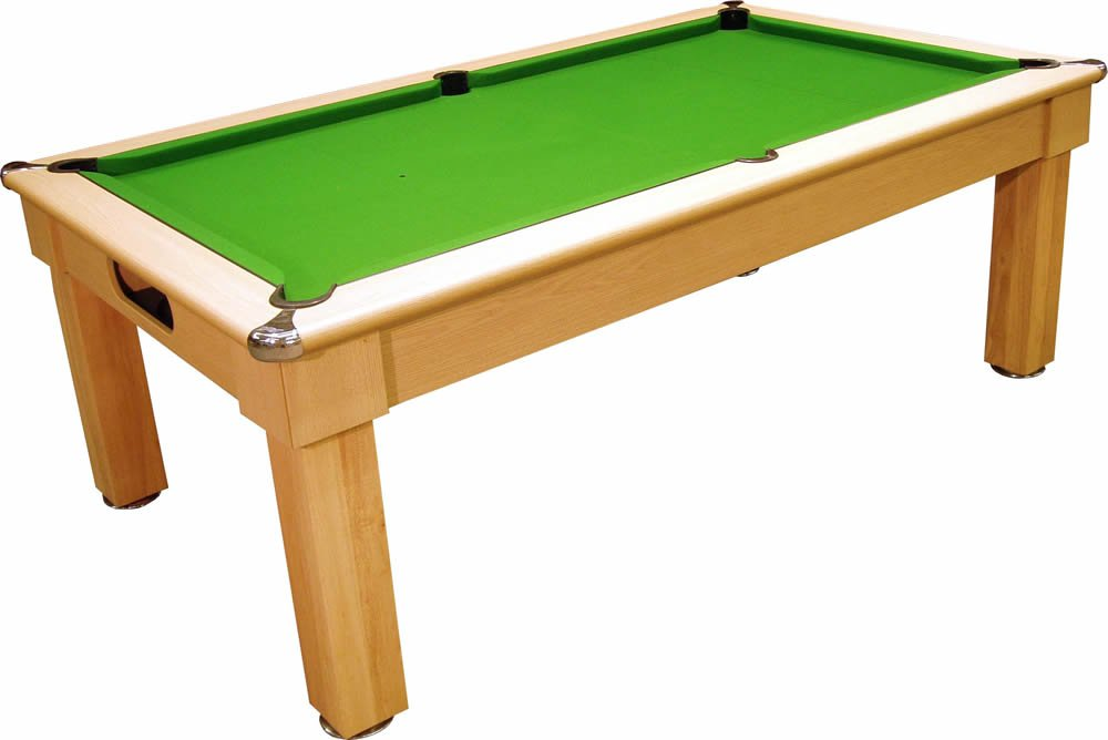 Optima Tuscany UK made Pool Dining Table Pool Tables Online : 1000x668GTuscanyDINERLIGHTOAKNOTOPGREEN from www.pooltablesonline.co.uk size 1000 x 668 jpeg 47kB
