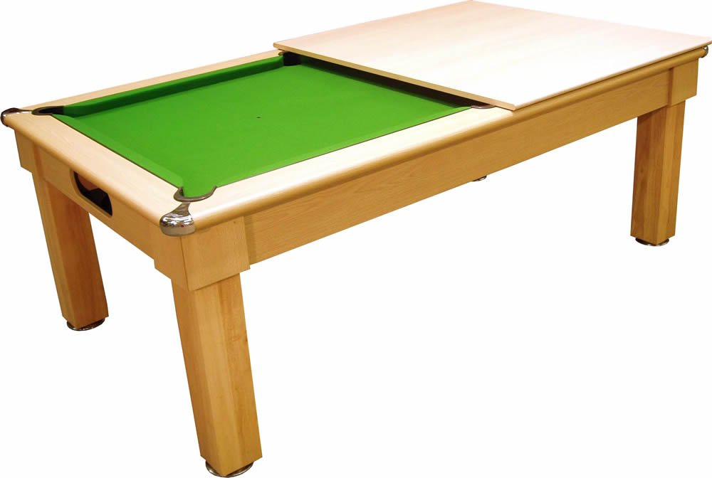 Optima Tuscany UK Made Pool Dining Table Pool Tables Online - Pool dining table 7ft
