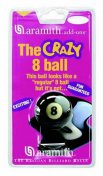Aramith Pool Ball Crazy No.8 Black USA Ball