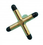 Pool Table Cue Rest Brass Cross Rest Head