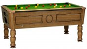Sam Balmoral Hazelnut Professional Pool Table