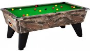 DPT Omega 2.0 Black Copper Marble Premium Pool Table