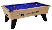 DPT Omega 2.0 Oak Coin Operated Slate Bed Pool Table