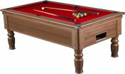 Supreme Prince Walnut Free Play Pool Table