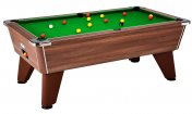 DPT Omega 2.0 Dark Walnut Slate Bed Pool Table