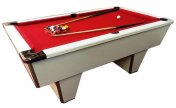 Gatley Club White Slate Bed Pool Table