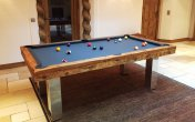 Billard Toulet Megeve Rustic Slate Pool Table