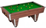 DPT Elite Dark Walnut Slate Bed Pool Table
