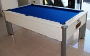 Quick Delivery - 6ft White Monarch Fusion Pool Table