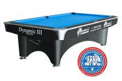 Dynamic 3 Professional 9 Ball Tournament Table 8ft, 9ft