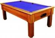 Optima Paris Dark Walnut Slate Bed Pool Table