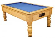 Optima Monaco Oak Slate Bed Pool Table
