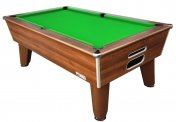 Optima Classic Dark Walnut Slate Bed Pool Table