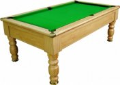 Optima Monaco Winchester Oak Slate Bed Pool Table