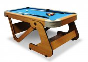 Riley Supersize 6ft 6� Wood Bed Pool Table � Code RPT-6F