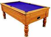 Optima Domestic Walnut Slate Bed Pool Table