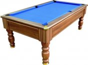 Optima Monaco Dark Walnut Slate Bed Pool Table