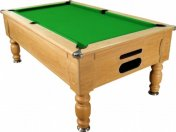 Optima Domestic Winchester Oak Slate Bed Pool Table
