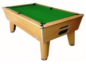 Optima Classic Winchester Oak Slate Bed Pool Table
