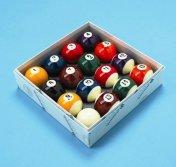 Aramith Pool Balls Spots and Stripes UK 2 Inch Set