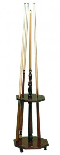 Riva Pool Cue Rack - Holds up to 8 Cues