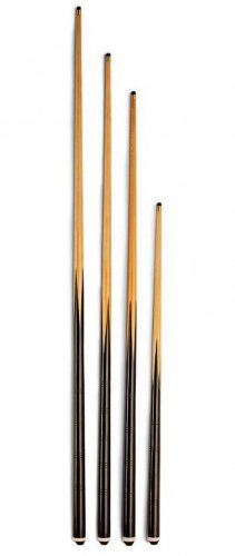 Pool Table Cues - 3 Bar Style Cues in a Range of Sizes