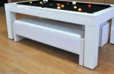 Pool Table Benches