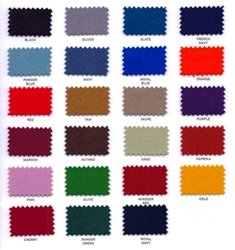 Hainsworth Smart Colour Cloth Chart
