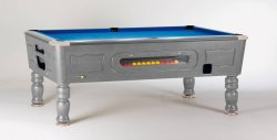SAM Balmoral Silver Coin Operated Slate Bed Pool Table