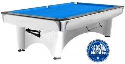 Dynamic 3 White Tournament American Table - 8ft, 9ft