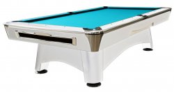 Dynamic Hurricane 9ft White American Tournament Pool Table