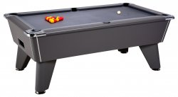DPT Omega Pro Onyx Grey Slate Bed Pool Table