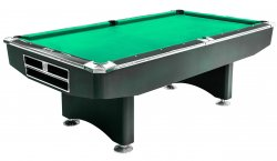 Dynamic Competition Black American Pool Table - 9ft Size