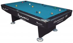 Dynamic 2 Professional Black Tournament Pool Table
