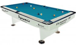 Dynamic 2 Professional White 7ft Tournament Pool Table