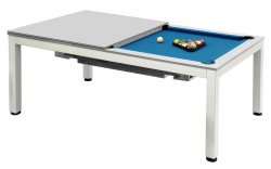 Dynamic Vancouver 7ft Grey American Pool Dining Table