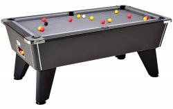 DPT Omega 2.0 Black Slate Bed Pool Table