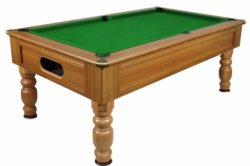 Optima Monaco Walnut Slate Bed Pool Table