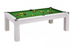 DPT Avant Garde 2.0 White Pool Dining Table
