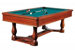 Dynamic Renaissance Billiard Table 8ft Size in Brown Finish
