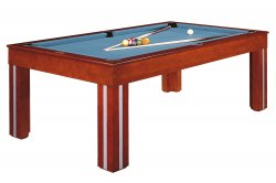Dynamic Pool Dining Table Granada American Size Model