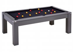 DPT Avant Garde 2.0 Onyx Grey Pool Dining Table
