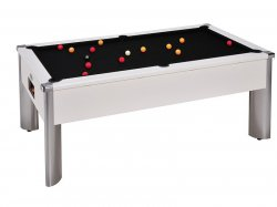 DPT Monarch Fusion White Slate Bed Pool Table