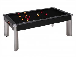 DPT Fusion Black Pool Dining Table