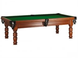 Madrid Traditional American Style Slate Pool Table by SAM