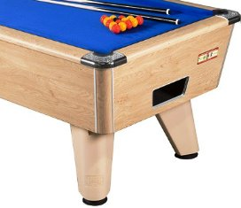 Supreme Winner Oak Pool Table